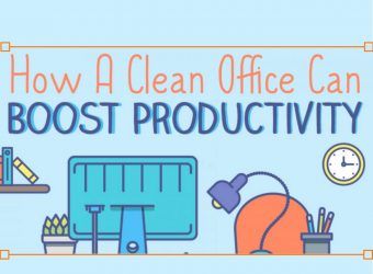 How a clean workplace can boost productivity (Infographic)