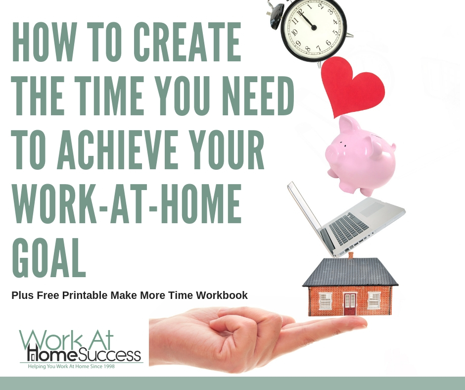 How to Build a Work-At-Home Career When You Don't Have a Lot of Time