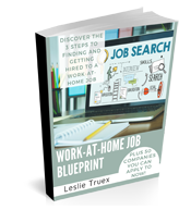 Work At Home Job Blueprint