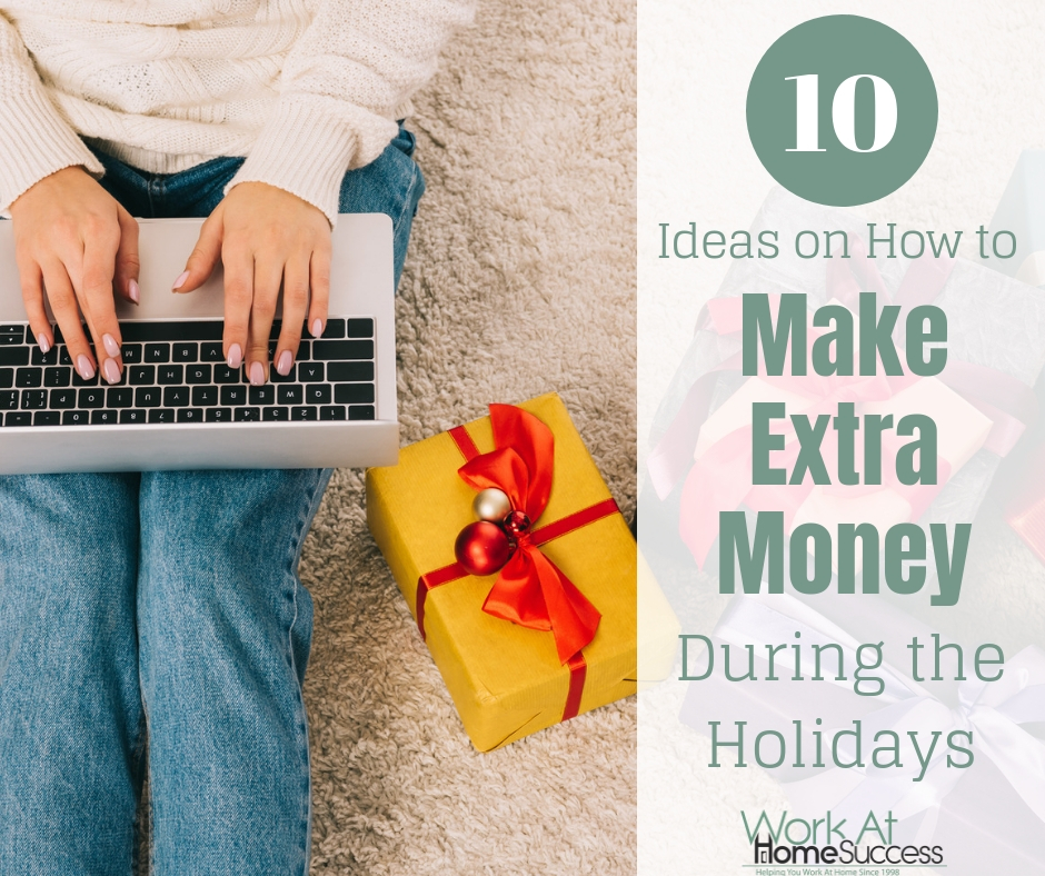 10 Ideas on How to Make Extra Money During the Holidays