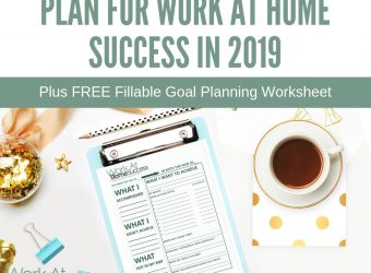 Plan for Work At Home Success in 2019
