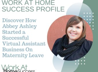 Abbey Ashley Started a Successful Virtual Assistant Business On Maternity Leave