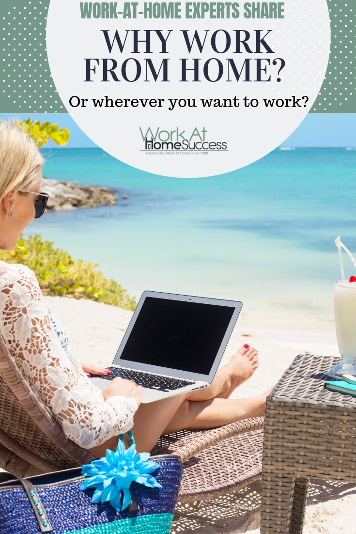 What are the perks of working from home and why should you do it? Work at home experts share their reasons and the benefits they get by working at home.   #workathome #homebusiness #WAHperks