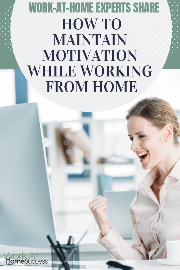 Work at home experts share their tips and tricks to keeping your energy and motivation up while working from home @vital_dollar  #workathome #productivitytips #stayenergized