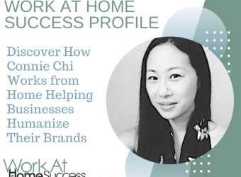 How Connie Chi Works from Home Helping Businesses Humanize Their Brands
