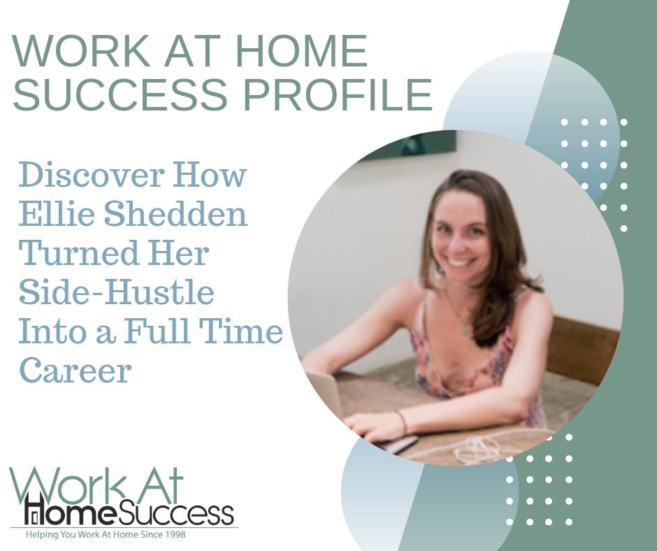 How Ellie Shedden Turned Her Side-Hustle Into a Full Time Career
