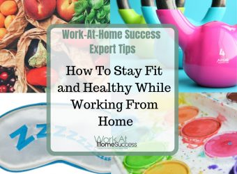 How to Stay Fit and Healthy While Working from Home