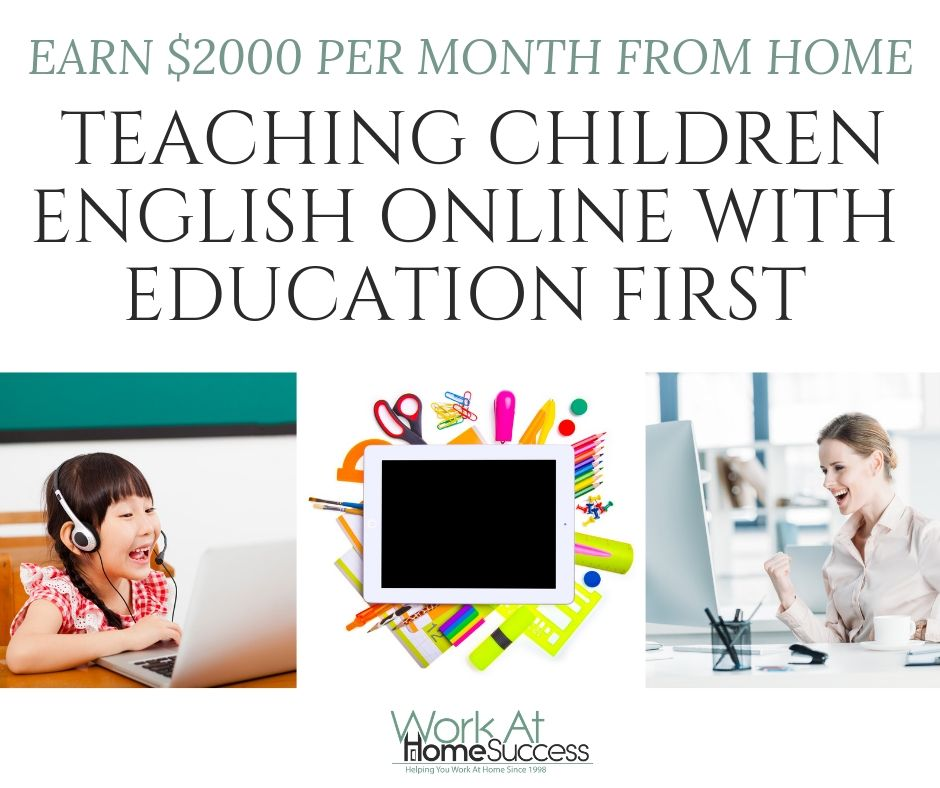 TEACHING CHILDREN ENGLISH ONLINE WITH EDUCATION FIRST